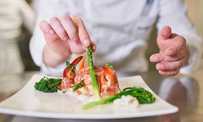 cruise dining - regional cuisine - crystal cruises